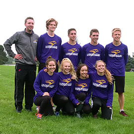 Brantford cross country team