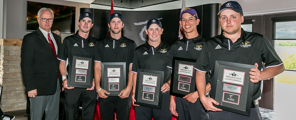 Laurier golf team