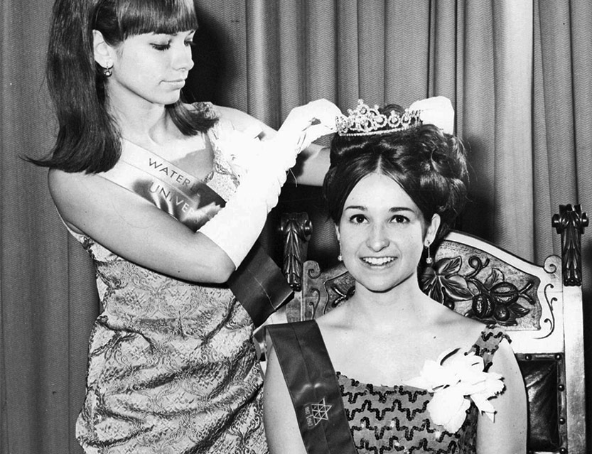 miss lutheran seminary is crowned at homecoming 1967
