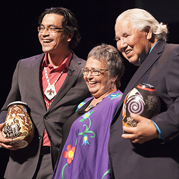 Duncan McCue, Jean Becker, Murray Sinclair